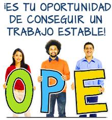 ¡Es tu oportunidad de conseguir un trabajo estable!