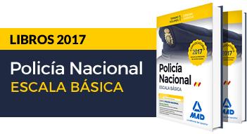 Nuevos libros Policía Nacional Escala Básica Convocatoria 2017
