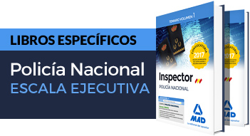 Nuevos libros Policía Nacional Escala Ejecutiva Convocatoria 2017