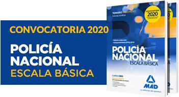 Nuevos libros Policía Nacional Escala Básica 2020