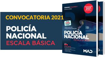 Nuevos libros Policía Nacional Escala Básica 2021